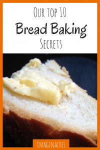 If you've been failing your way through baking bread, you need to read our top ten secrets to baking perfect bread!