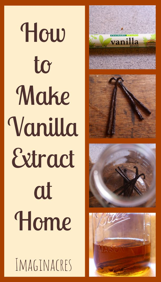 Making vanilla extract at home is incredibly easy and can actually save you some money at the grocery store. Why keep buying imitation vanilla when the real stuff is so much better?