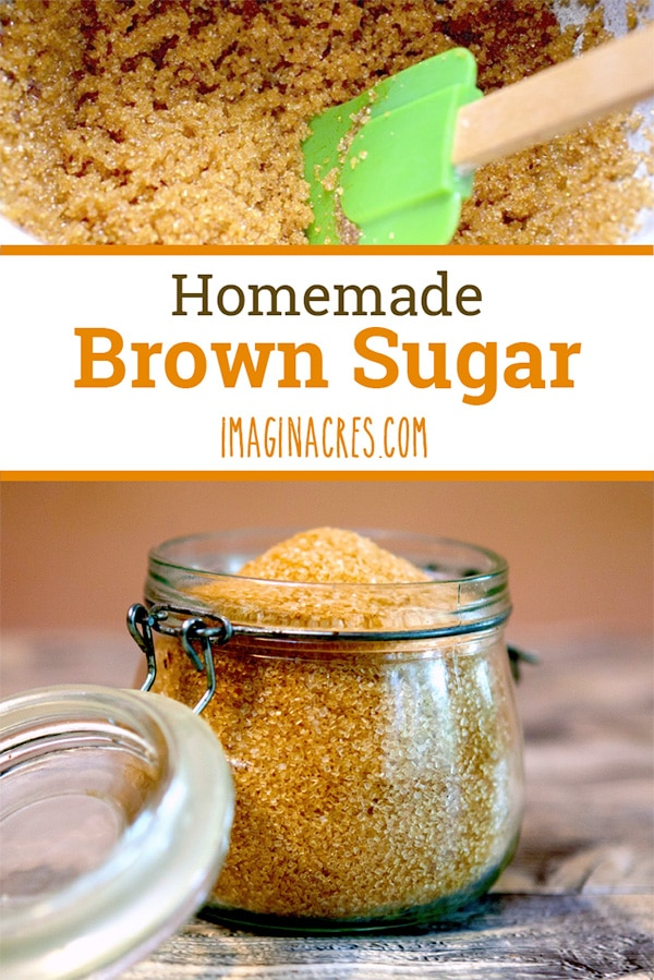 Are you out of brown sugar? Here's how to make your own with only two ingredients.