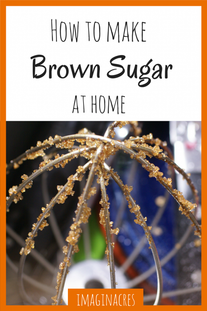 Learn how to make brown sugar so you never have a baking emergency again!