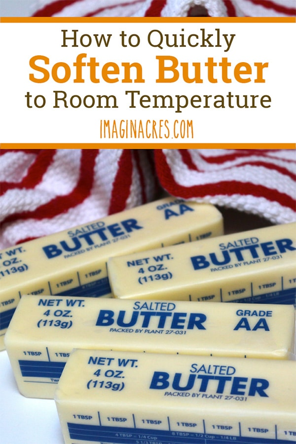 Did you forget to take the butter out of the refrigerator before starting a recipe? See how to quickly soften butter for baking.