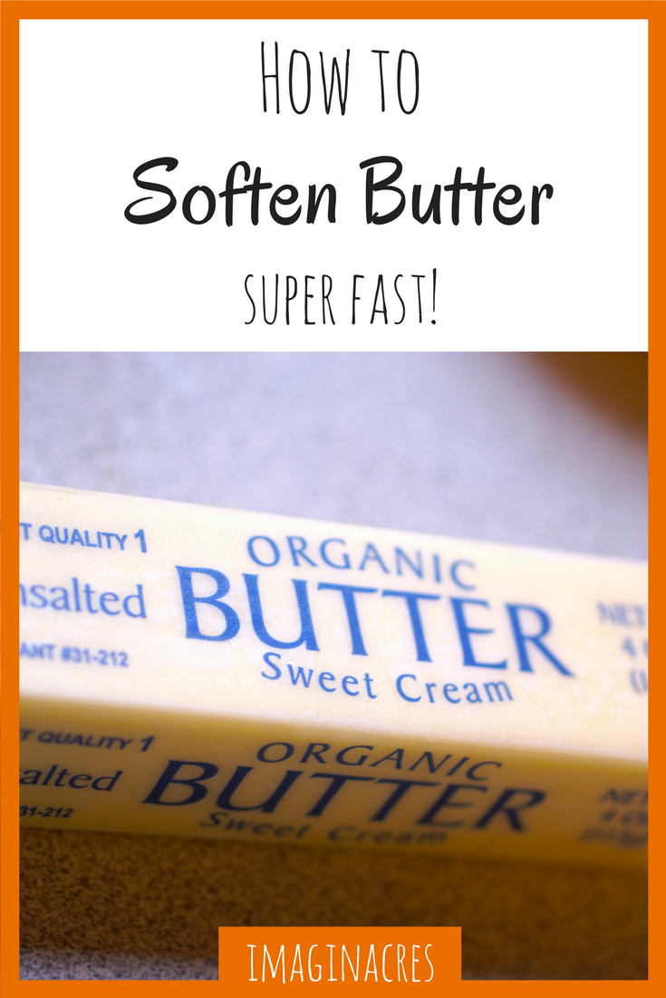 Don't you just hate it when you're dying to make some cookies but all your butter is rock hard?! These tips will show you how to soften butter quickly for all your baking needs!