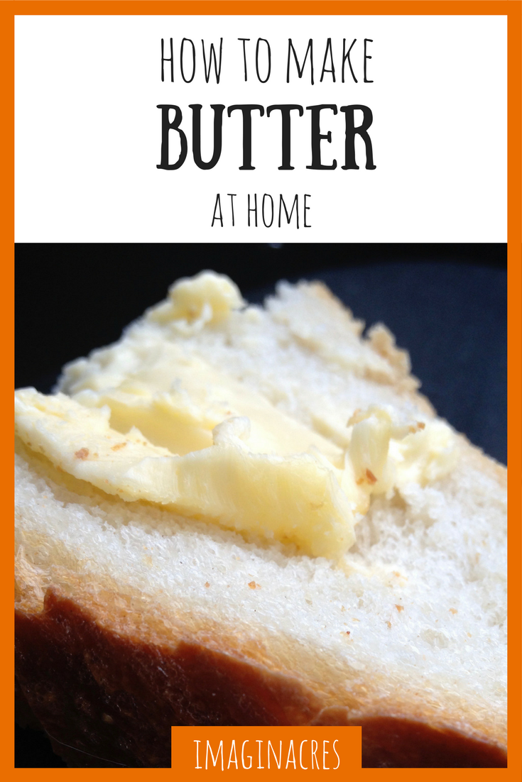 Making butter isn't complicated, this visual guide will show you the way!