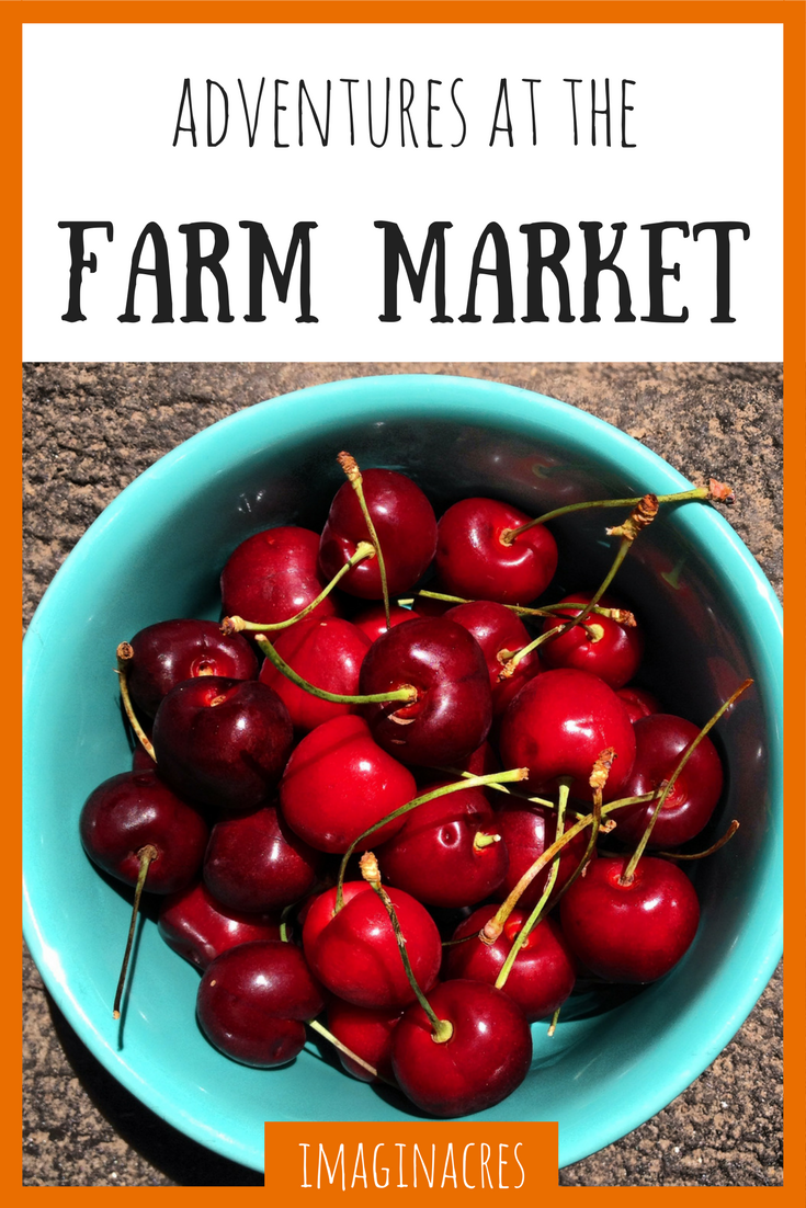 Shopping at the farmer's market has a way of changing your mind about your food.