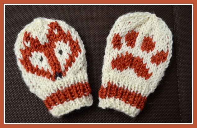 What could be more cute for your little one this season than a foxy hat  and. These fox mittens are knitted ... aad2fe97d29