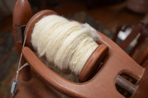 Learning to spin has made me appreciate fiber arts so much more. We're looking forward to getting sheep and creating yarn right from the source!