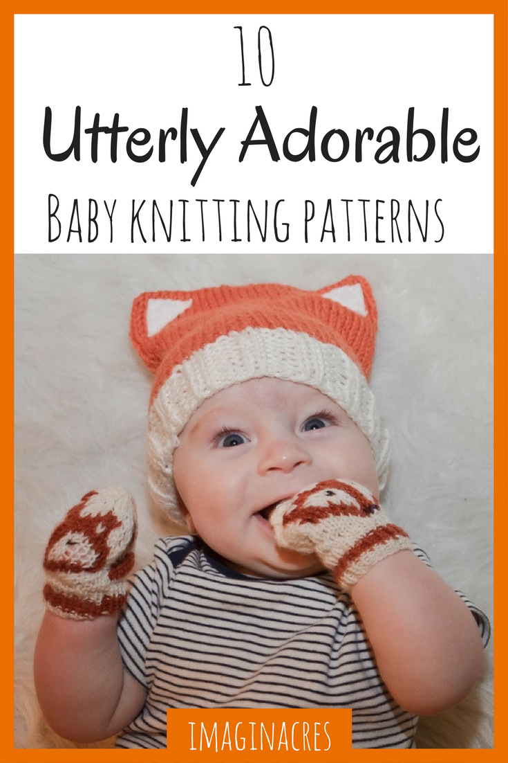 There's nothing like a brand new baby to inspire you to get knitting! These adorable knitting patterns are perfect for the new little bundle of joy!