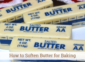 How to Soften Butter for Baking – Quickly!